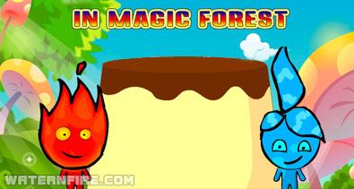Feuerjunge Und Wasser